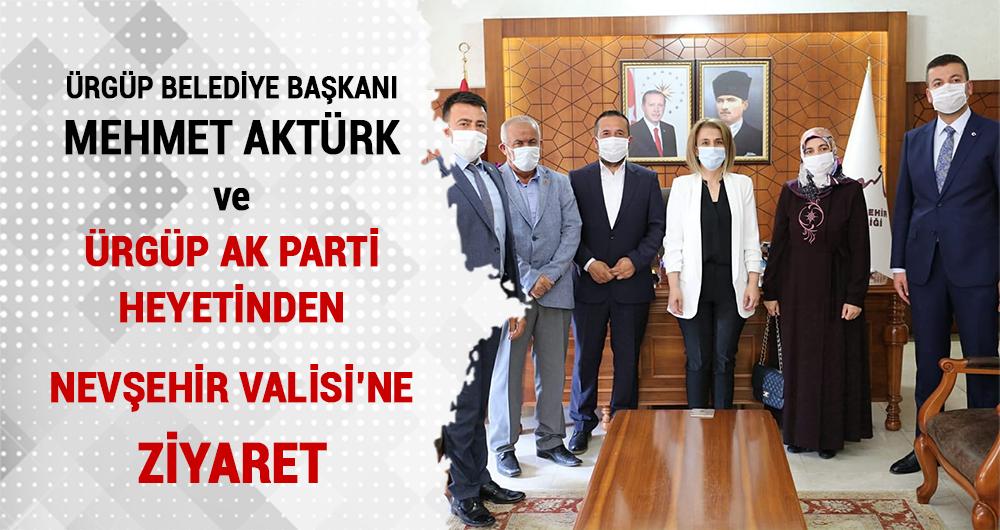 Ürgüp'ten Nevşehir'in Yeni Valisi İnci Sezer Becel'e Ziyaret