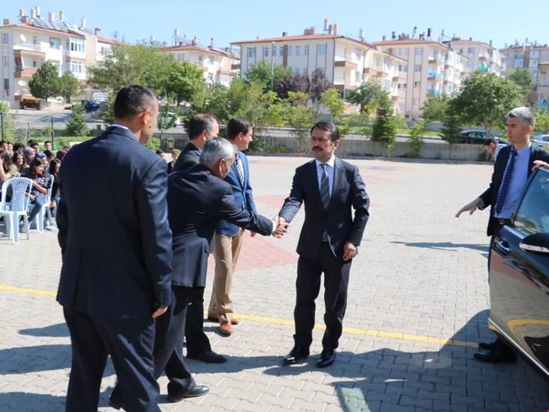 Nevşehir Valisi İlhami Aktaş TESAN Fen Lisesinde