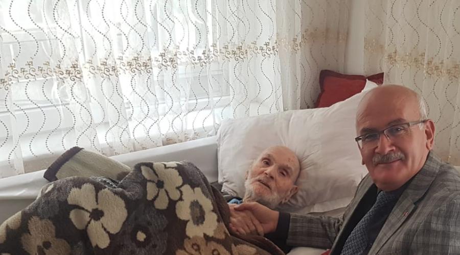Ürgüp'ün en yaşlısı Mustafa Demircan Vefat etti