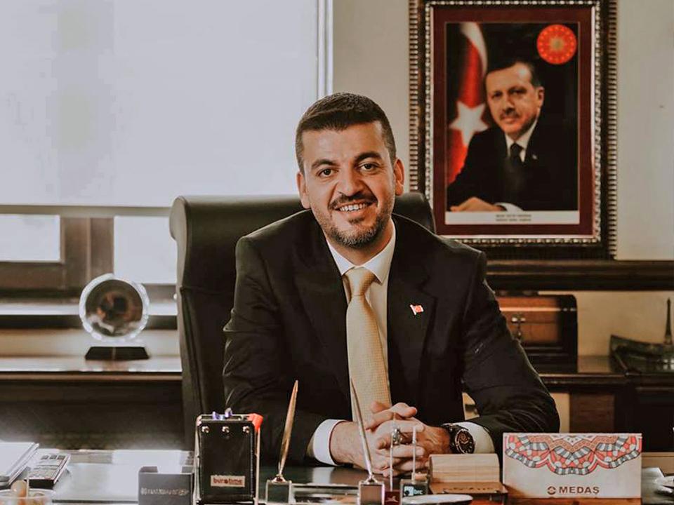 Başkan Aktürk AK Parti Kampı için Ankara'ya gitti