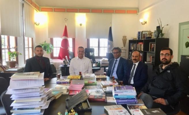 Türk Eğitim Sen Temsilcilerinden Rektöre Ziyaret
