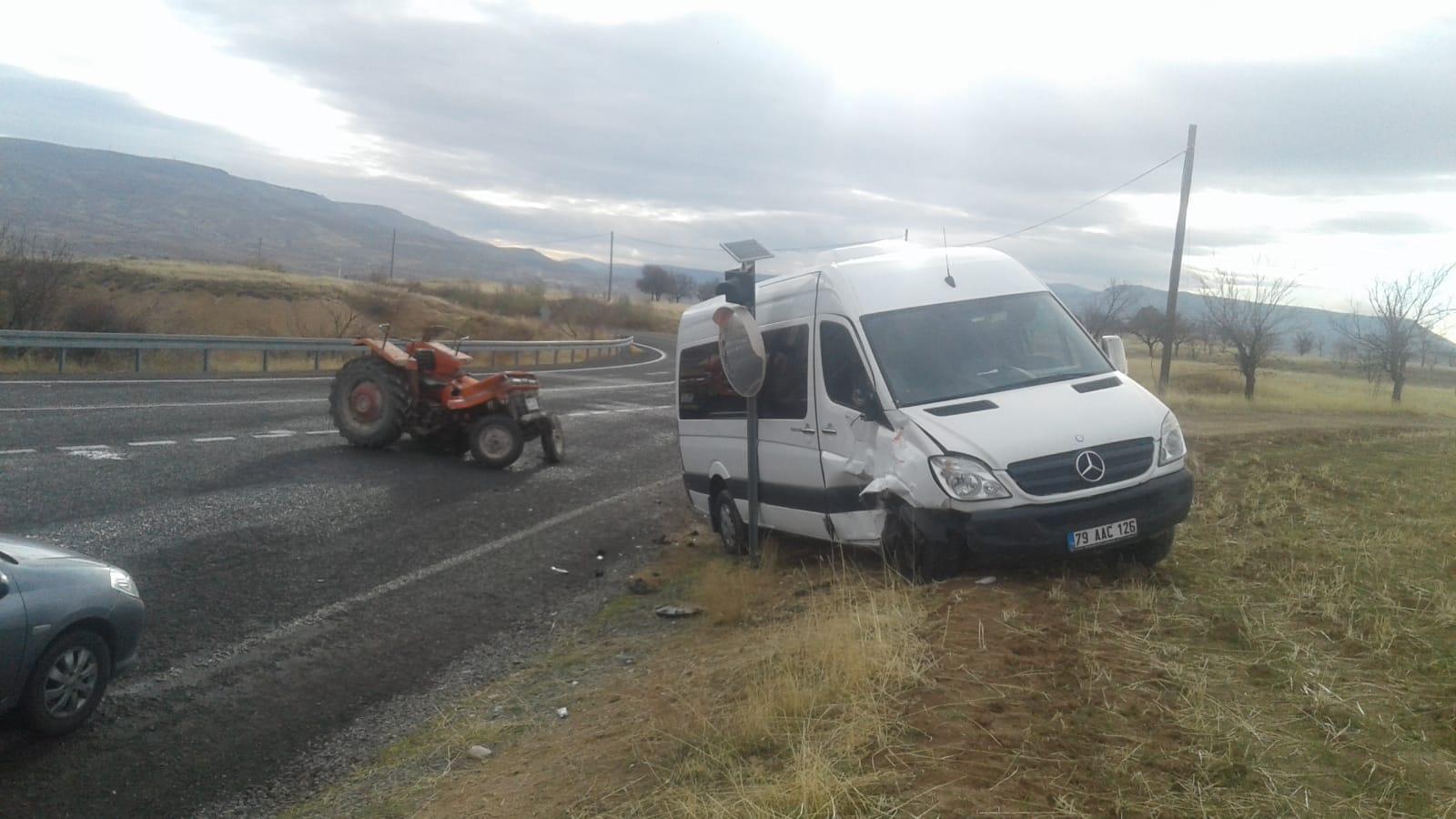 Devrent Yolunda Trafik Kazası