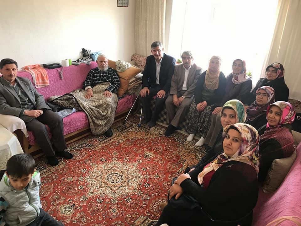 Ak Parti'den Aksalur'da Şehit Ailesi ve Yaşlı Ziyareti