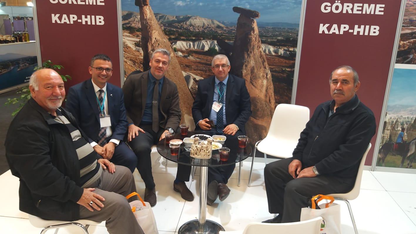 Ürgüp Belediyesi Ankara Turizm ve Seyahat Fuarına katıldı