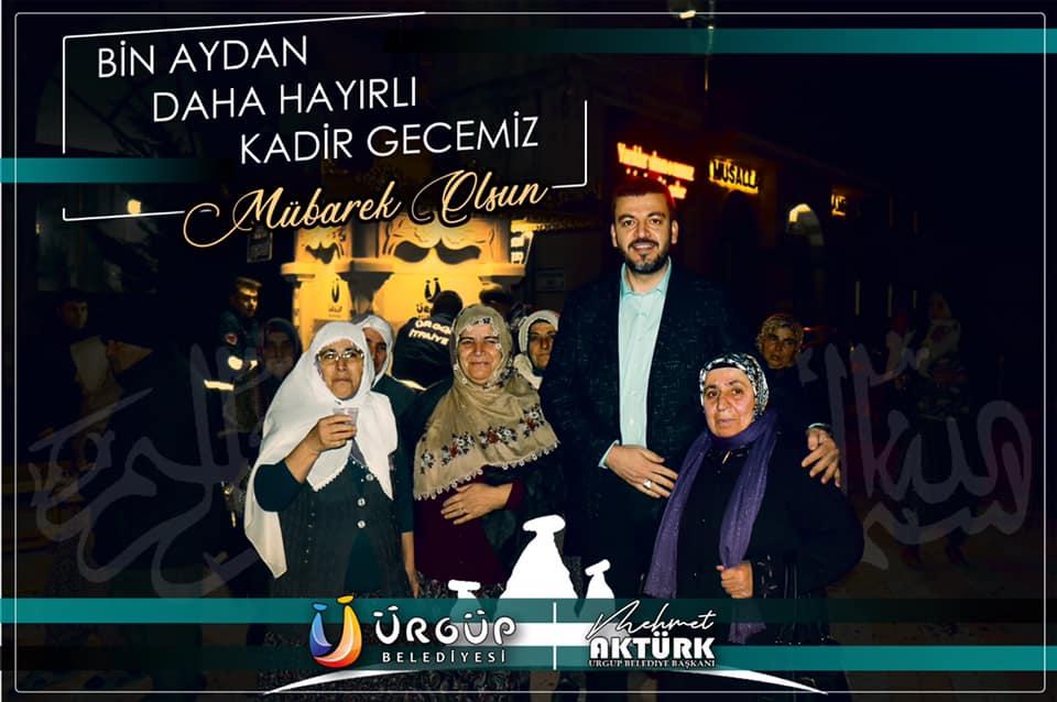 Başkan Aktürk'ün Kadir Gecesi Mesajı