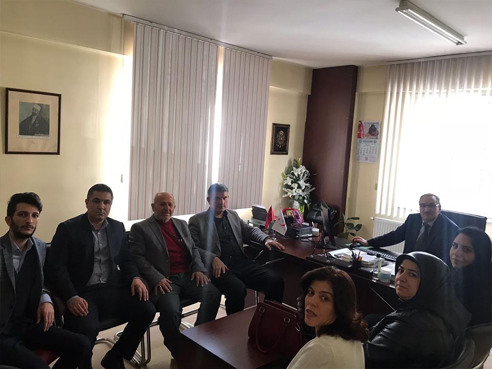 Ak Parti Heyetinden, 14 Mart Tıp Bayramı Ziyareti