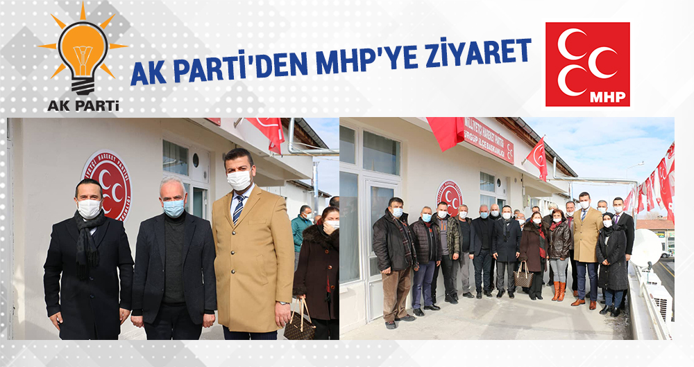 AK Parti Ürgüp teşkilatı, MHP İlçe Başkanlığını ziyaret etti