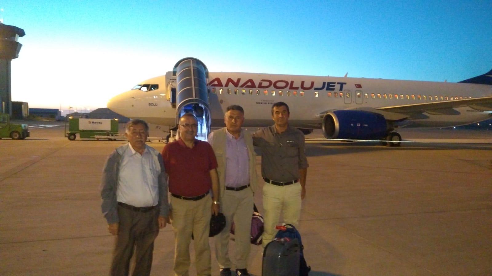 Erdoğan'ın talimatıyla Bölgeden 5 muhtar İspanya'ya gitti