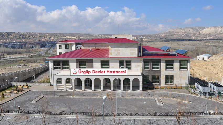 Yeni Ürgüp Devlet Hastanesi'nin resmi açılışı yapılacak