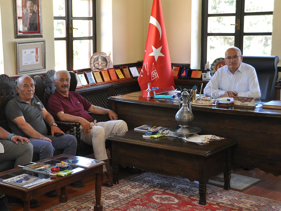 CHP Milletvekili Sarıaslan'dan Ürgüp Ziyareti