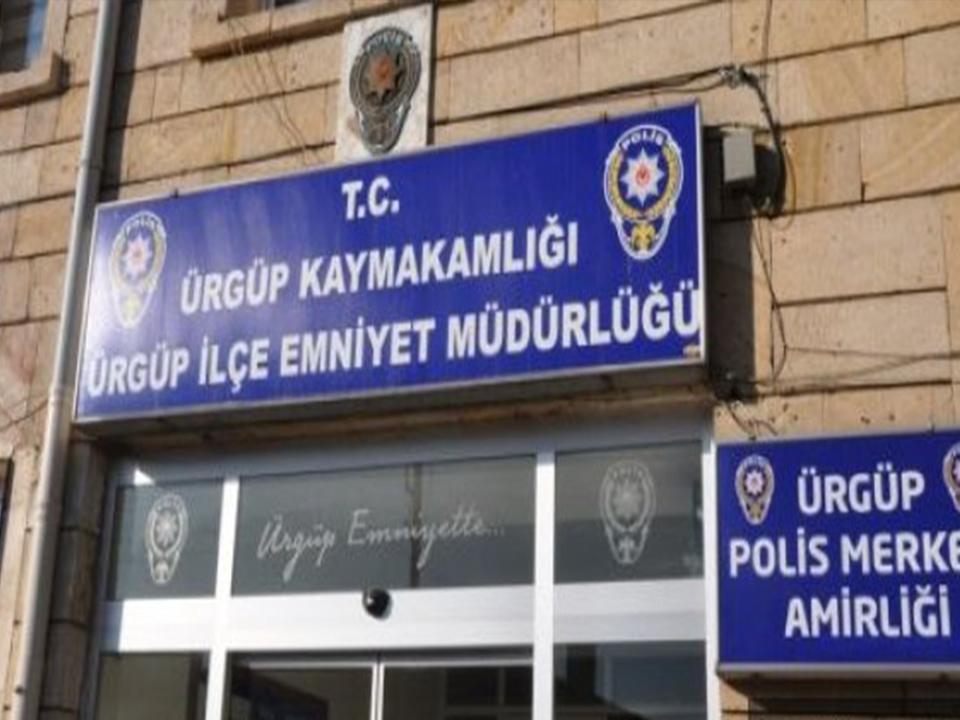 Ürgüp'te iki kişi tutuklandı