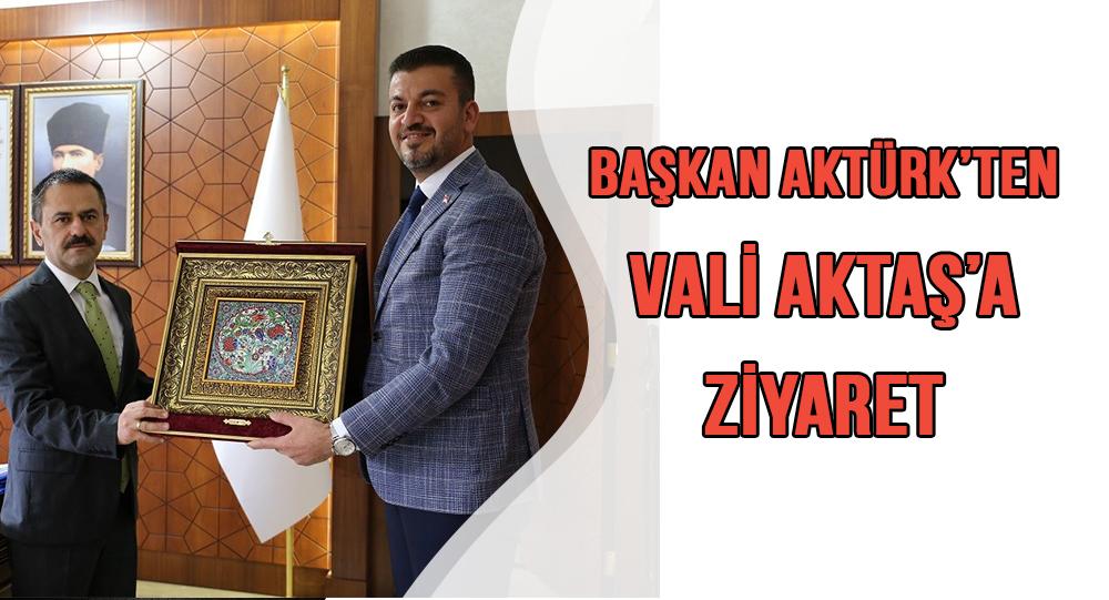 Ürgüp Belediye Başkanı Aktürk'ten Vali Aktaş'a Ziyaret