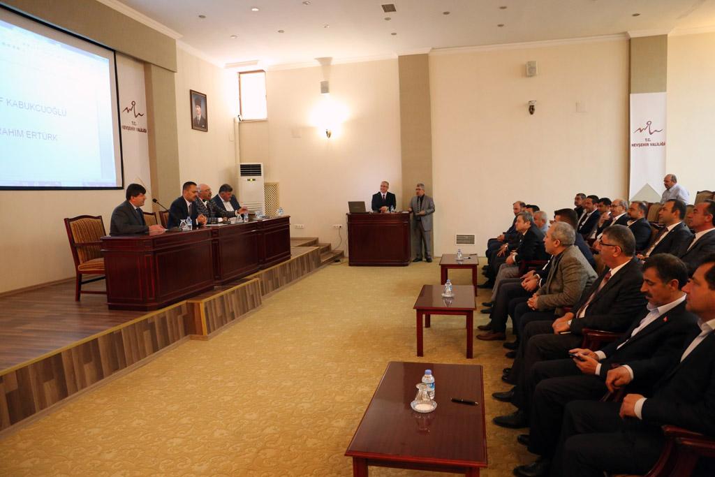 KAP-HİB Meclisi ve Encümen seçimi yapıldı