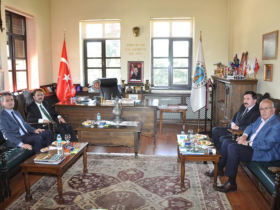 Nevşehir Valisi İlhami Aktaş Ürgüp'te