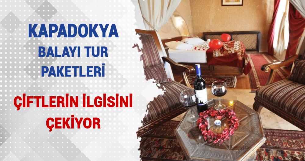 Kapadokya Balayı Turları Yeni Evli Çiftlerin Gözdesi