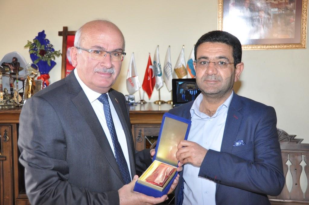 MHP İlçe Başkanı Öz'den Başkan Yıldız'a Ziyaret