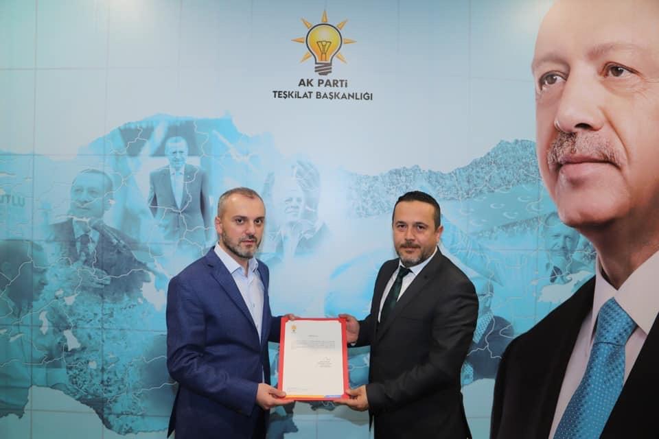 AK Parti Ürgüp İlçe Başkanı belirlendi