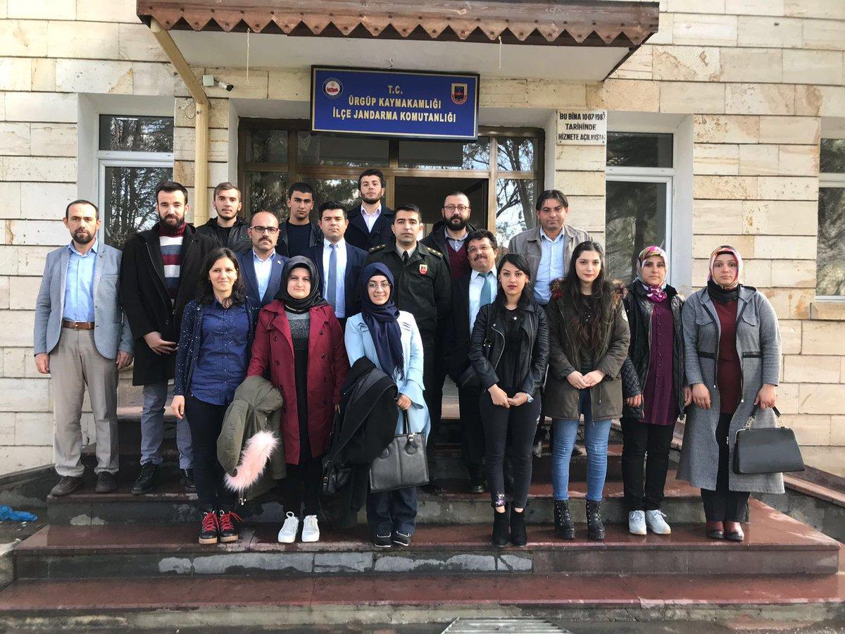 KYK Öğrencilerinden İlçe Jandarma'ya Ziyaret