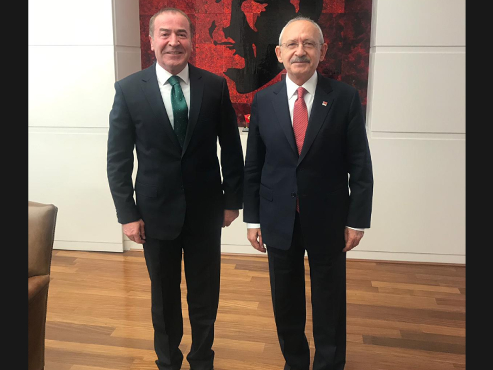 Ödemiş Kılıçdaroğlu'nu ziyaret etti