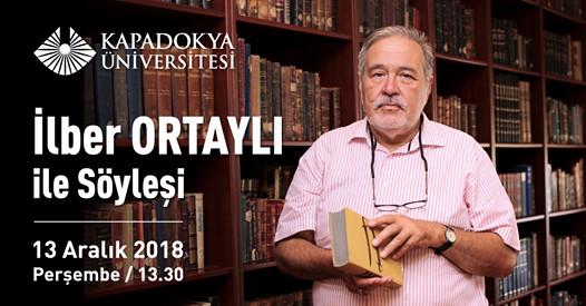 Prof Dr. İlber Oltaylı Mustafapaşa'ya geliyor
