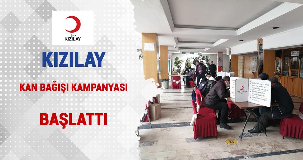 Kızılay Ürgüp'te Kan Bağış Kampanyası Başlattı