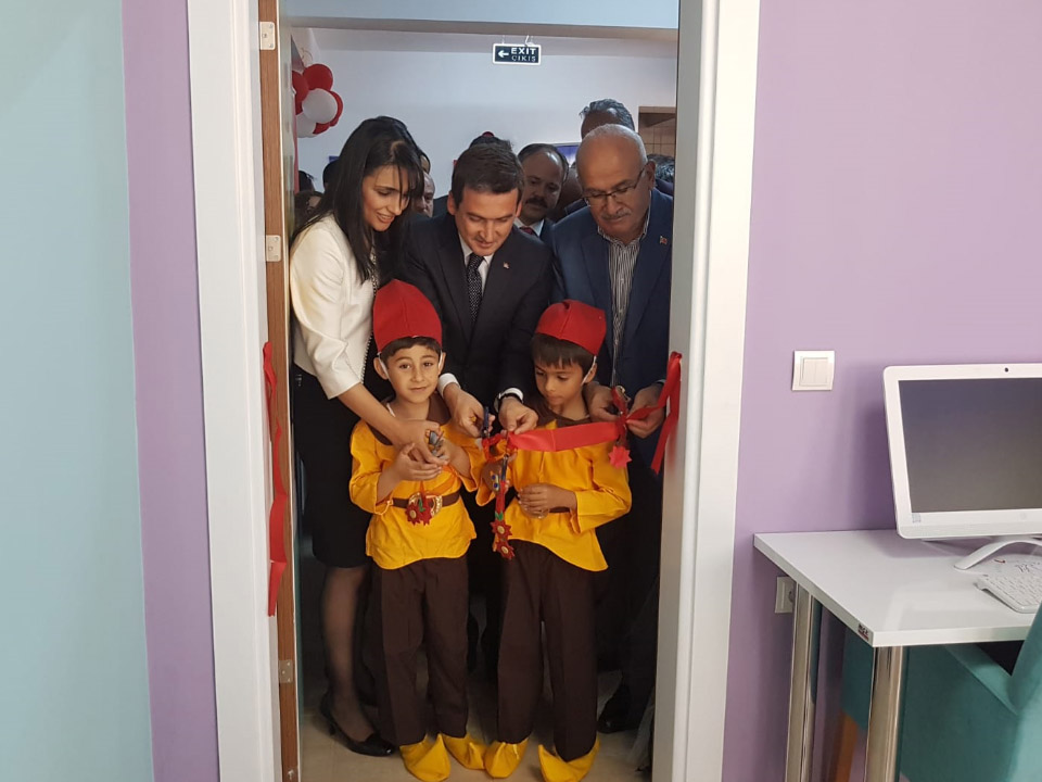 Ayhan Ertürk İlkokulunda Z Kütüphane Açıldı