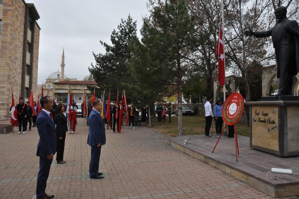 Ürgüp'te 24 Kasım Öğretmenler Günü Kutlandı