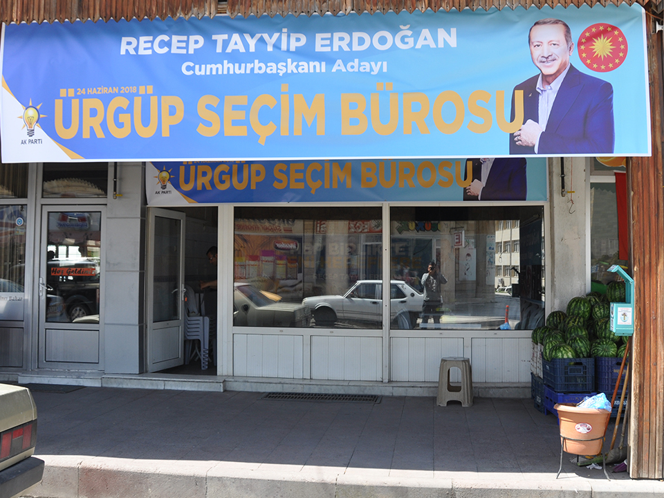 Milletin Adamı Recep Tayyip Erdoğan, Seçim Bürosu Açıldı