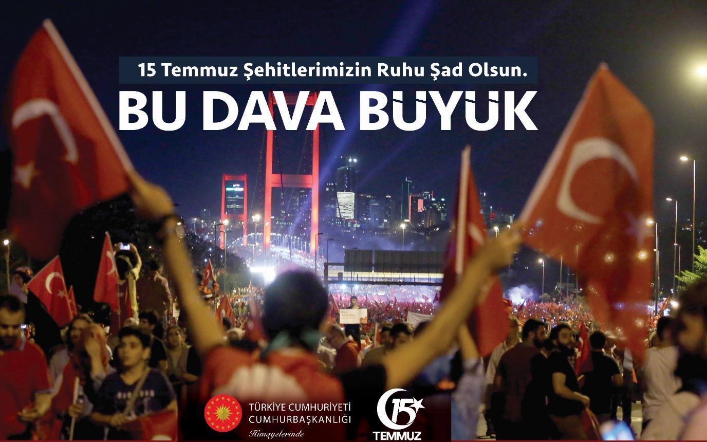 Belediye Başkanı Yıldız'dan 15 Temmuz Mesajı