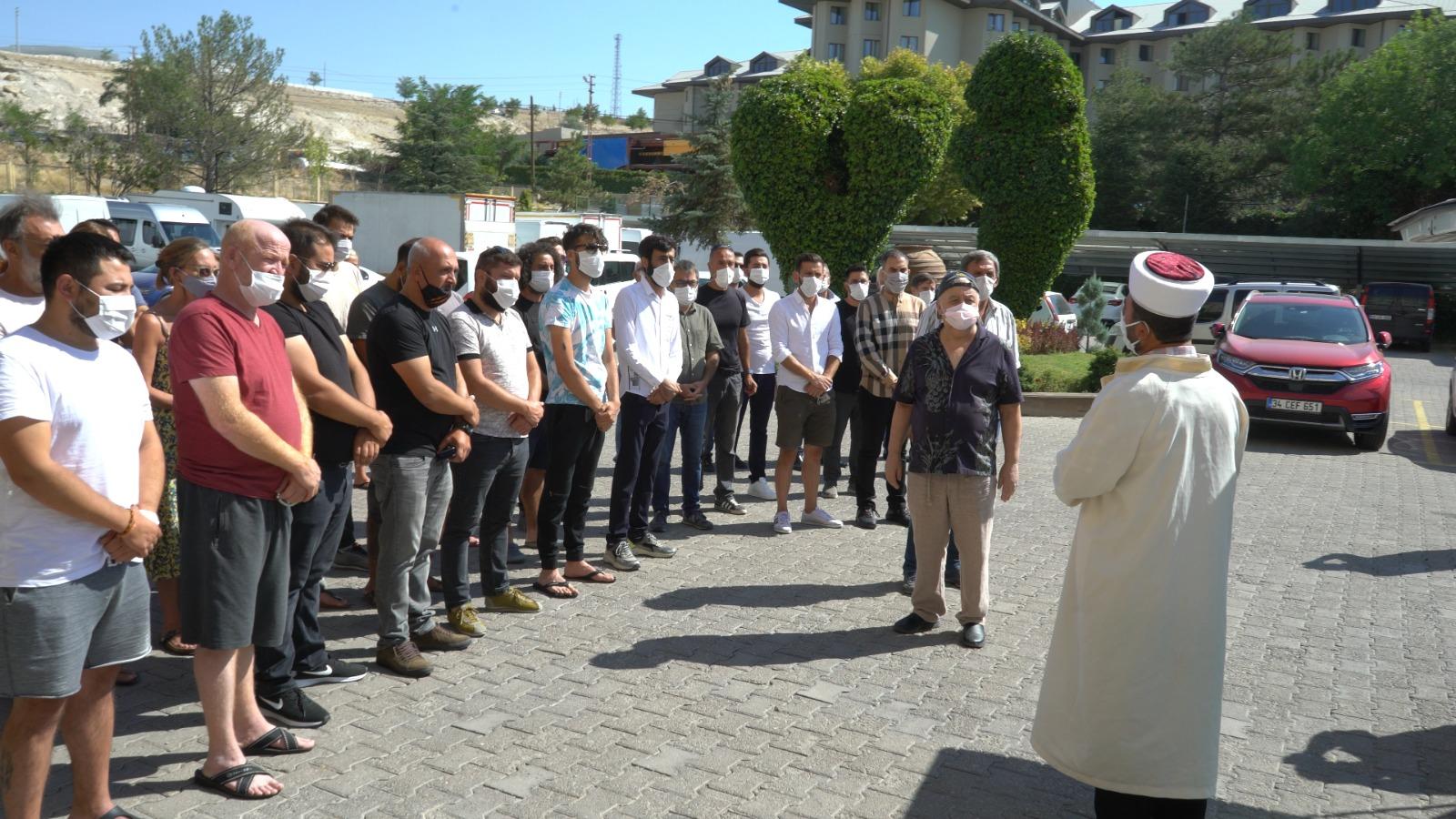 Usta oyuncu Haldun Boysan'ın cenazesi Ankara'ya gönderildi