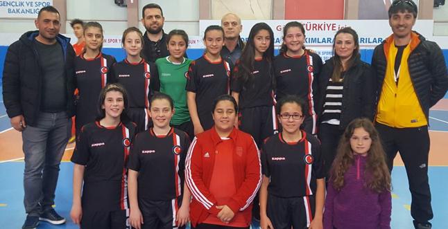 Ürgüplü kızlar Türkiye yarı finallerine katılacak