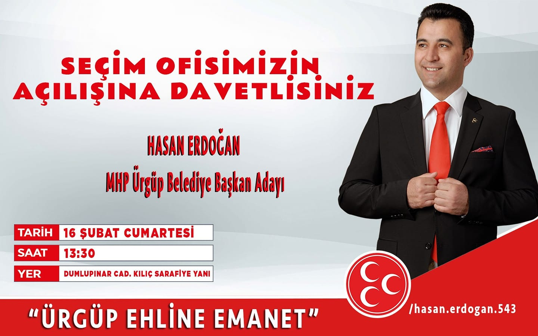 MHP Seçim Bürosunu Cumartesi Günü Açacak
