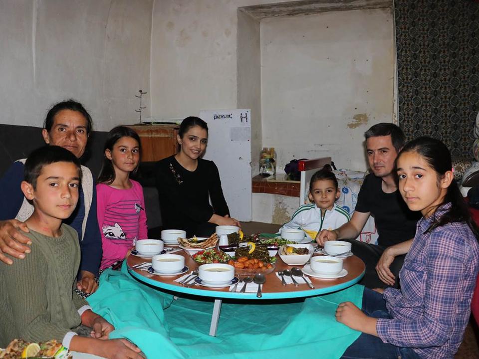 Kaymakam Maraşlı iftar sofrasına konuk oldu