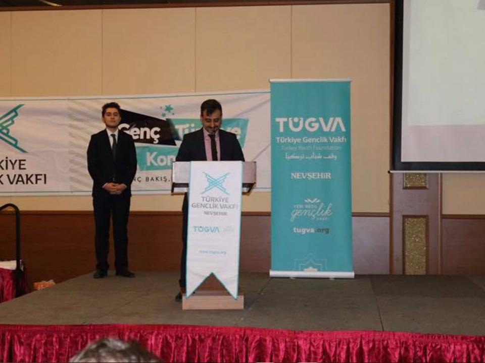 Ürgüp'te Genç Türkiye Kongresi Yapıldı