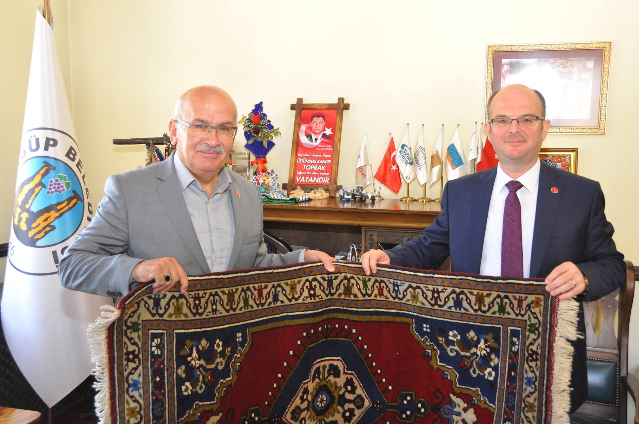 Aksalurlu Rektörden Başkan Yıldız'a ziyaret