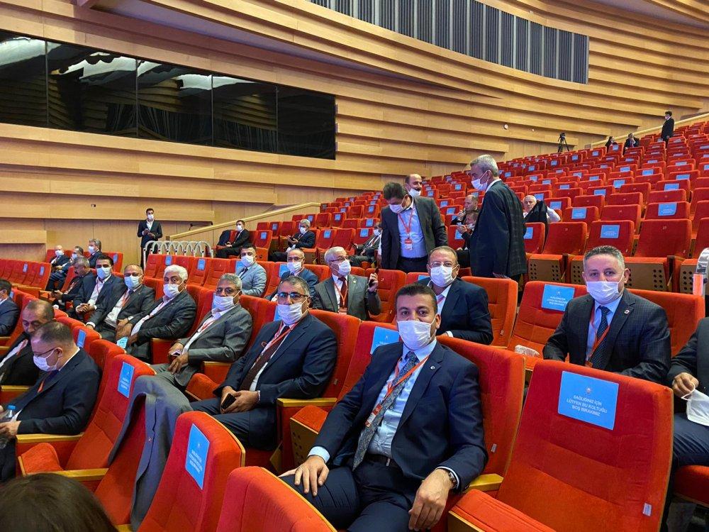 Başkan Aktürk AK Parti Belediye Başkanları toplantısı için Ankara'da