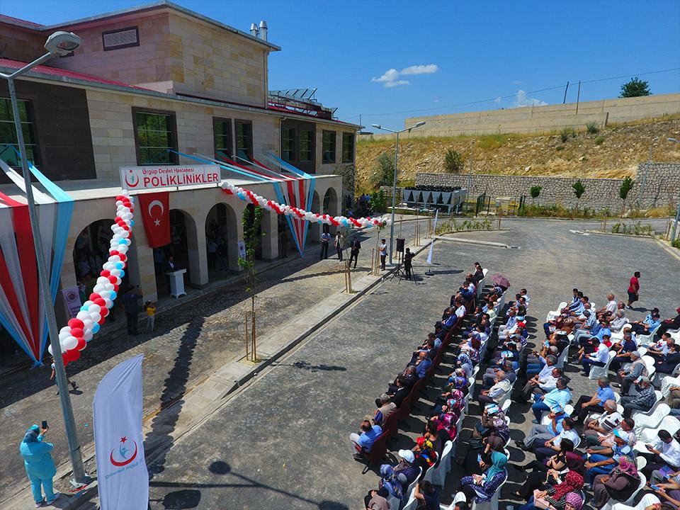Ürgüp Devlet Hastanesinin açılışı yapıldı