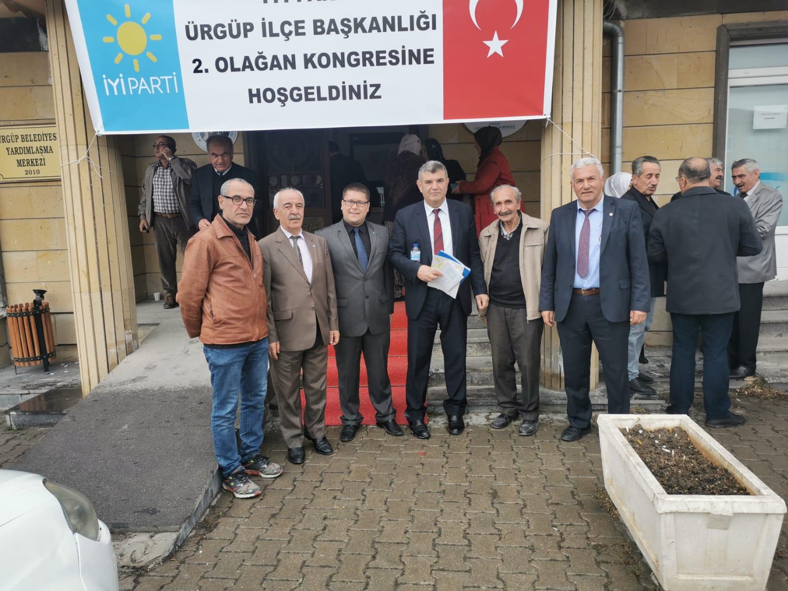 İYİ Parti Ürgüp İlçe Kongresi Yapıldı