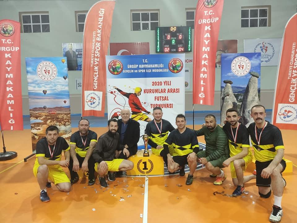 Turnuvada Şampiyon Ortahisar Belediyesporoldu