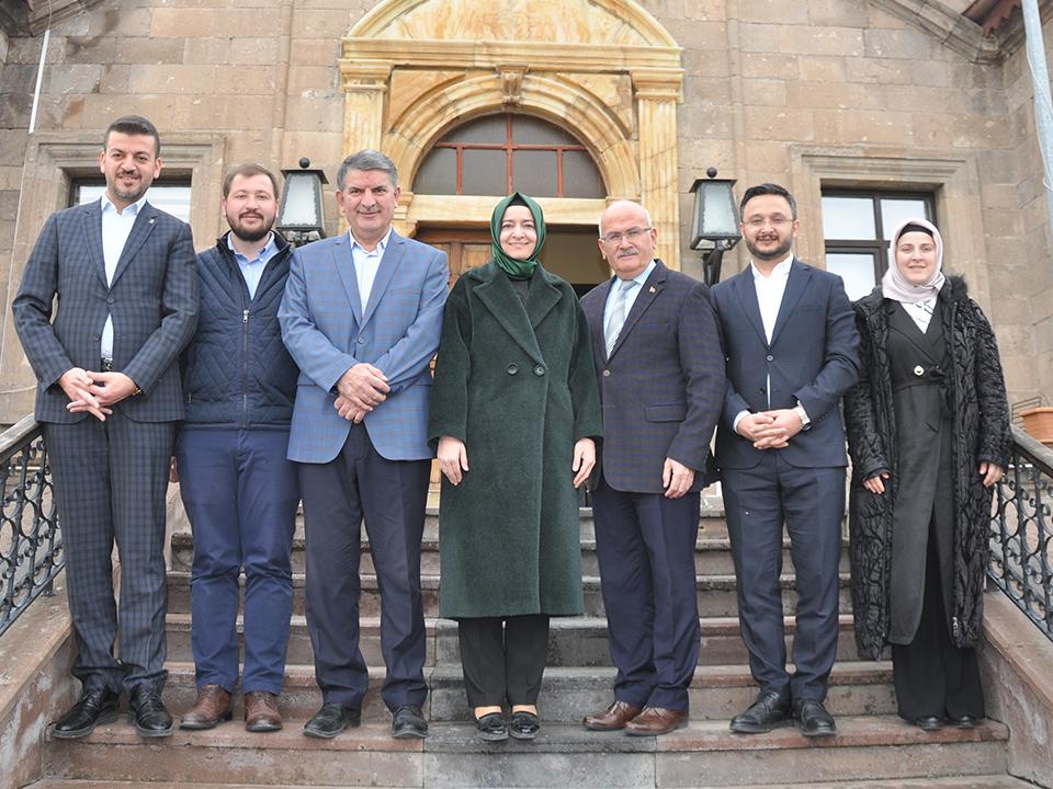 AK Parti Genel Başkan Yardımcısı Fatma Betül Sayan Kaya, Ürgüp'te