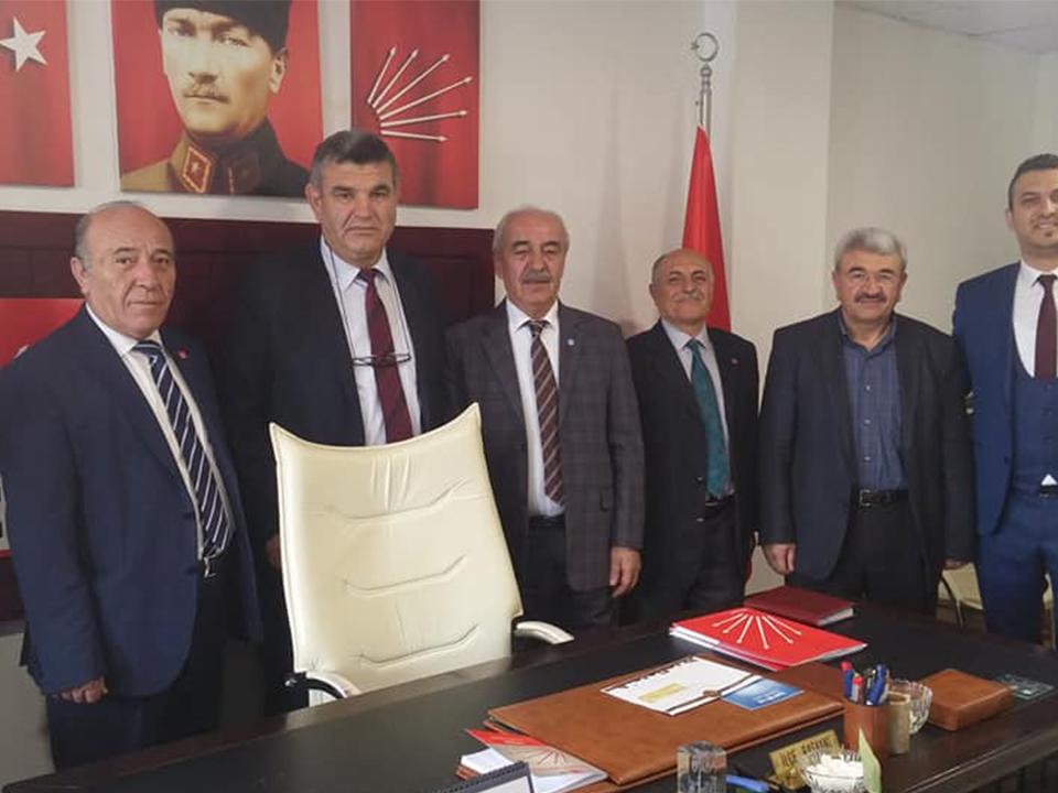 İYİ Parti'den CHP İlçe Teşkilatına Ziyaret