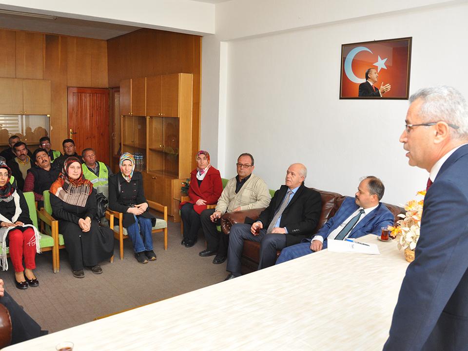 Ürgüp Belediyesinde Taşeron İşçi Sınavı Yapıldı