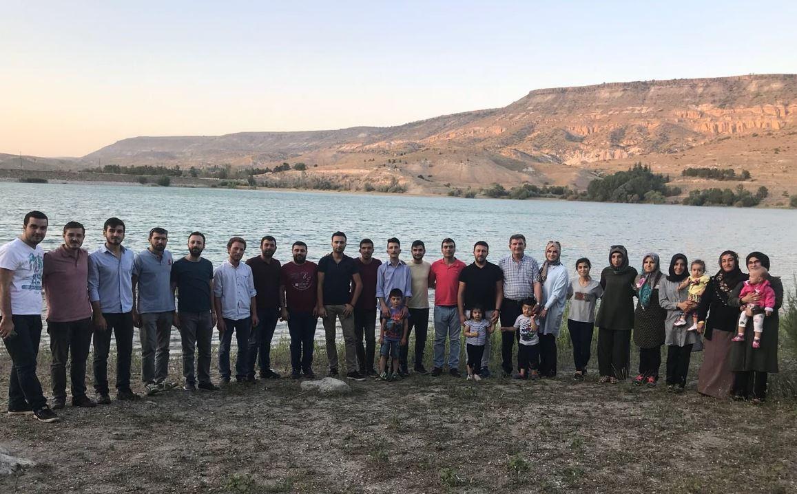 Ürgüp Ak Gençlik Damsa Barajında Piknik Yaptı