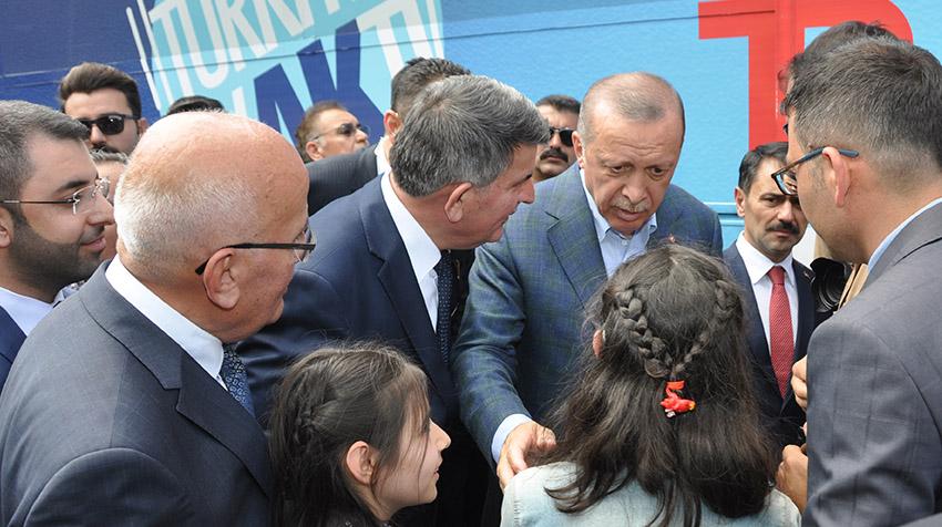 Cumhurbaşkanı Recep Tayyip Erdoğan Nevşehir'de