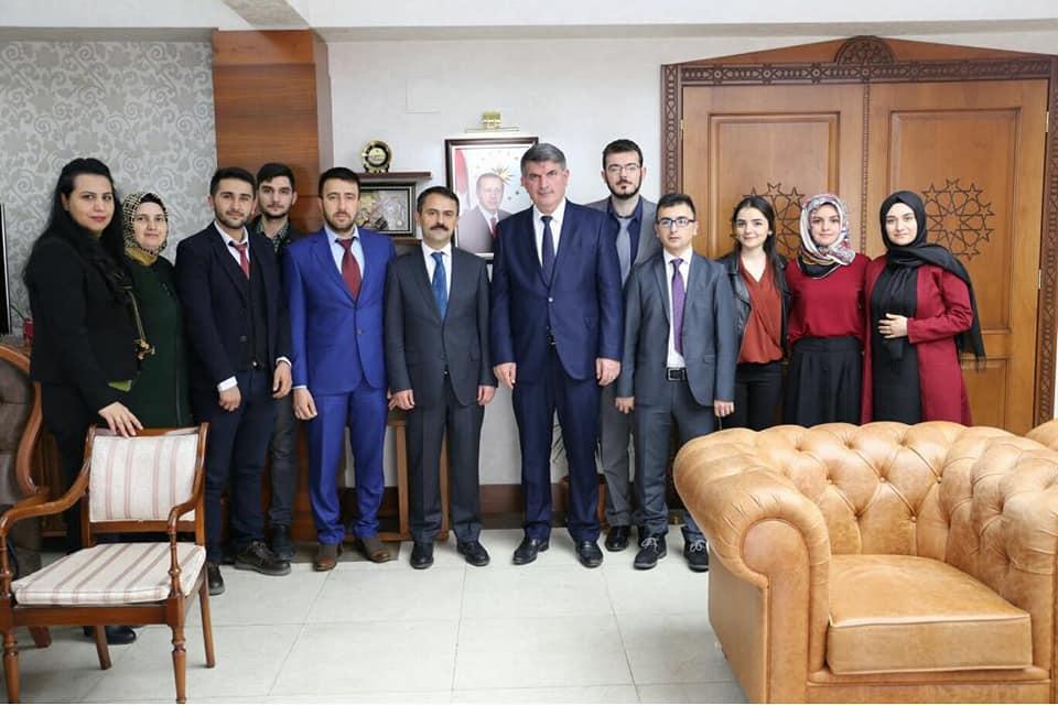 AK Parti Ürgüp İlçe Teşkilatı, Vali Aktaş'ı Ziyaret Etti