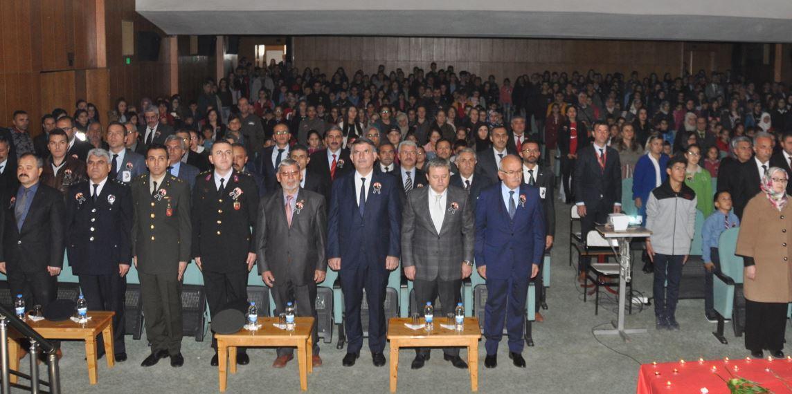 Ürgüp'te 10 Kasım Atatürk'ü Anma Töreni Düzenlendi