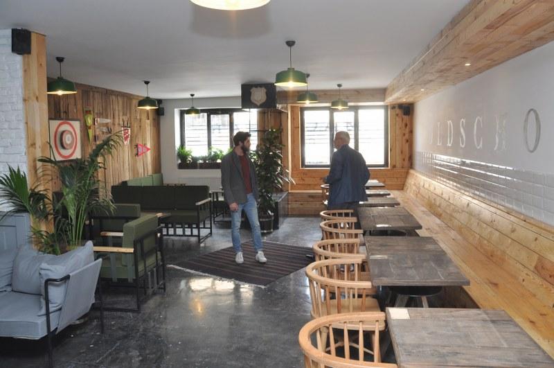 Dağıstanlı Sokakta Mack Bear Coffee açıldı