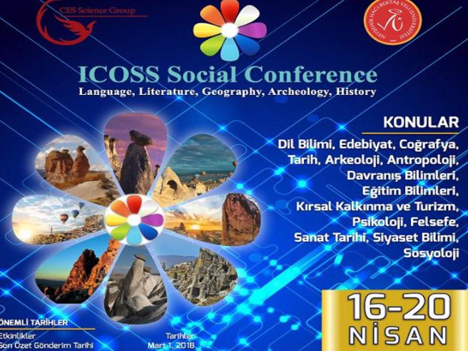Uluslararası Sosyal Bilimler Konferansı Ürgüp'te yapılacak